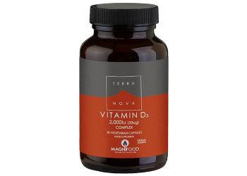 Terranova Vitamin D3 2000 IU