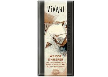 Vivani  hvid chokolade m.  crisp Ø