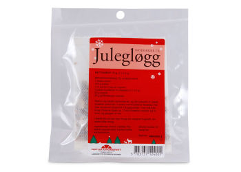 Natur-Drogeriet Julegløgg Krydderier M.  Juleetiket