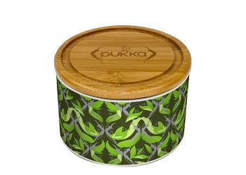 Pukka  Keramik Krukke Supreme Matcha Green M. 10 Tebreve Ø
