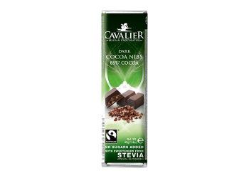 Cavalier Chokoladebar Mørk