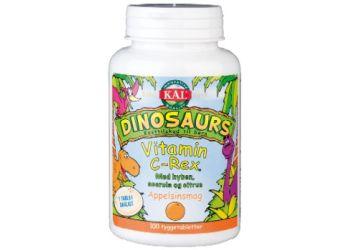 DinoSaurs vit. C-rex tygge  børn