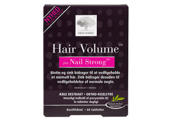 New Nordic Hair Volume + Nails strong