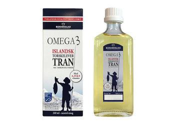 Lysi Islandsk Omega-3 Tran