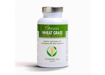 Wheat Grass Juice Kapsler Ø Raw Food