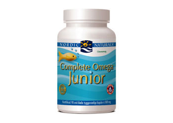 Nordic Naturals Complete Omega Junior m. Citrussmag