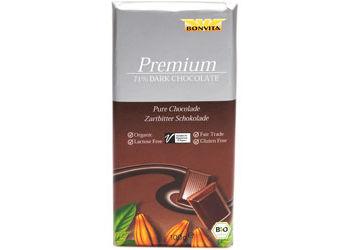 BonVita Chokolade mørk 71% cacao Ø  Fairtrade