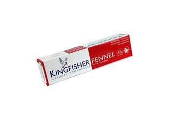 Kingfisher Toothpaste Tandpasta Fennikel M. Fluor Kingfischer