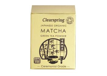 Clearspring Matcha Grönt Te Pulver Eko