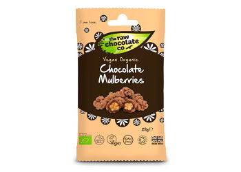 The Raw Chocolate Company Morbær m. rå chokolade