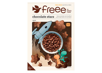 Doves Farm Chocolate Stars Glutenfri