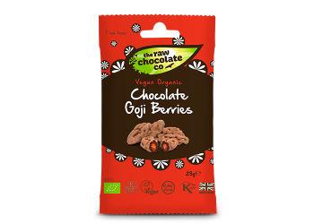 The Raw Chocolate Company Gojibær M. Rå Chokolade Ø Snack Pack