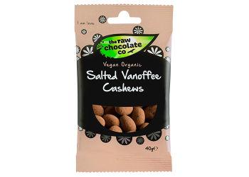 The Raw Chocolate Company Salted Vanoffe Cashewnødder Ø