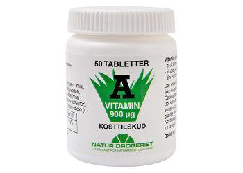 Natur-Drogeriet A-vitamin 3000 I.e.