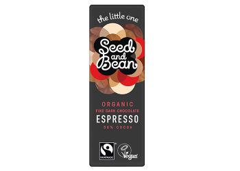 Seed & Bean Mørk Chokolade 58% Espresso Ø