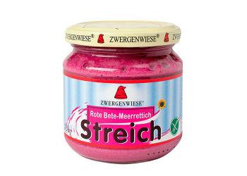 Zwergenwiese Smørepålæg veg.rødbede, peberrod streich
