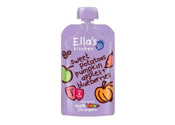 Ellas Kitchen Babymos søde kartofler, græskar, æble & blåbær