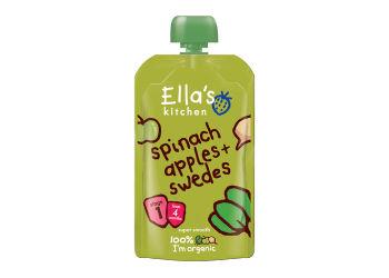 Ellas Kitchen Puré Spenat, Äpple och Kålrot