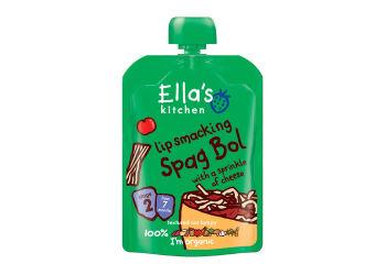 Ellas Kitchen Babymos spaghetti bolognese  7 mdr Ø