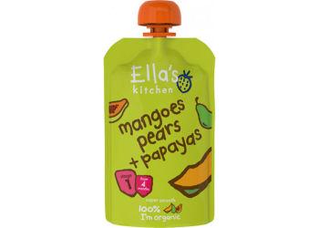 Ellas Kitchen Puré Mango, Päron och Papaya