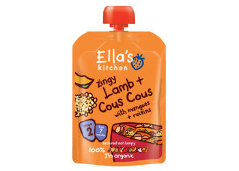 Ellas Kitchen Eko Pure Lamm Couscous Mango Russin
