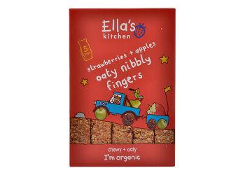 Ellas Kitchen Nibbly Fingers - jordbær og eple 12 mnd+