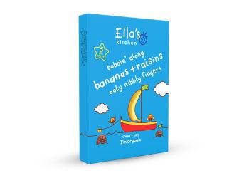 Ellas Kitchen Eko Bars med Russin och Banan
