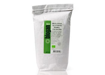 Biogan Økologisk Glutenfri Rismel, Fuldkorn