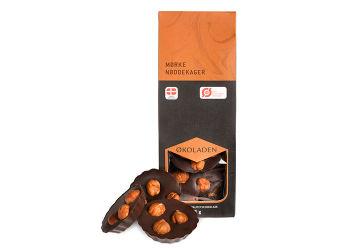 Økoladen Nøddekage m. Mørk Chokolade