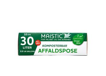 Maistic Komposterbare Affaldsposer 30L