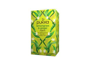 Pukka Lemongrass & Ginger Te Eco