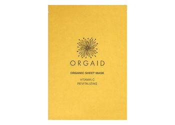 Orgaid Organic Sheet Mask Vitamin C Revitalizing