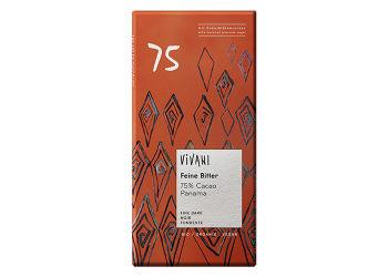 Vivani  Panama Chokolade Mørk 75% Ø