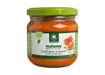 Cashew cream with paprika Ø Nutana