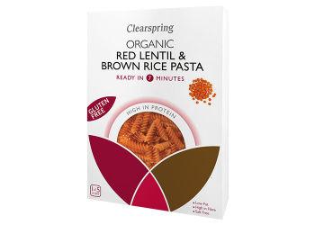 Clearspring Glutenfri Linse & Ris Pasta