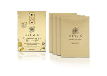 Orgaid Organic Sheet Mask Greek Yogurt Nourishing