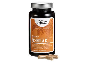 Nani Acerola C-vitamin
