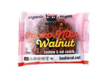 Kookie Cat Cacao Nibs Valnöt Eko
