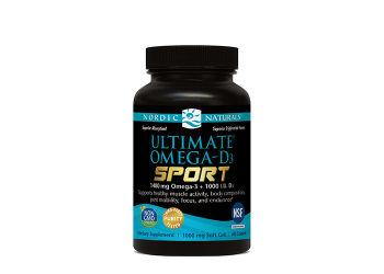 Nordic Naturals Ultimate Omega D3 Sport