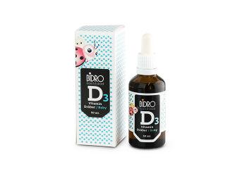 Bidro D3 Vitamin Dråber Baby