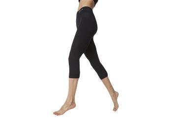 Boody Leggings 3/4 Sort - Flere Størrelser