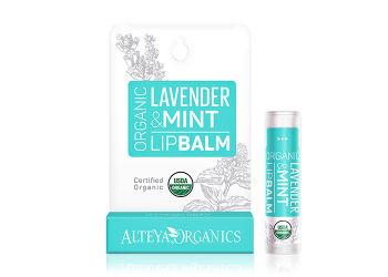 Alteya Organics Lipbalm Lavender Mint