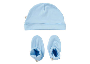 Boody Baby Hue og Futter Blå 0-3 Mdr