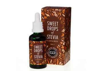 Good Good Sweet Drops of Stevia - Karamel