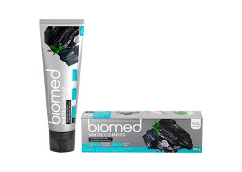 Bio Med Tandpasta Biomed Charcoal  Triple Cleaning