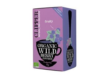 Clipper Wild Berry Te Ø