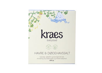 KRAES Babybad Havre & Dødehavssalt