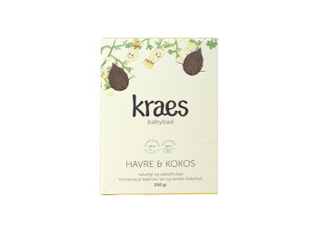 KRAES Babybad - Havre & Kokos