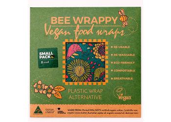 Bee Wrappy Vegan Food Wraps - 2 X Small