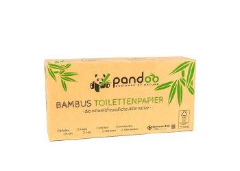 Pandoo 3-lags Bambus Toiletpapir
